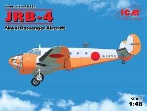 Model samolotu pasażerskiego JRB-4 ICM 48184