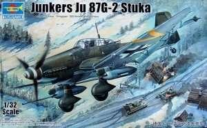 Model samolotu Junkers Ju-87G-2 Stuka Trumpeter 03218
