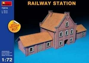 Model stacji kolejowej 1:72 - MiniArt 72015