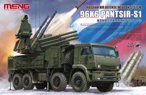 Model systemu przeciwlotniczego Meng Model SS016 96K6 Pantsir-S1