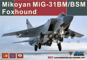 Model AMK 88003 Mikoyan MiG-31BM/BSM 1/48