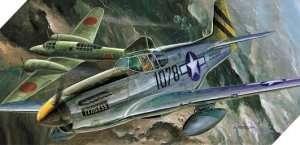 Model Academy 12441 myśliwiec P-51C Mustang do sklejania