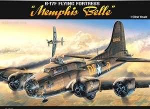 Model Academy 12495 bombowiec B-17F Memphis Belle