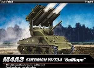 Model Academy 13294 czołg M4A3 Sherman w/T34 Calliope