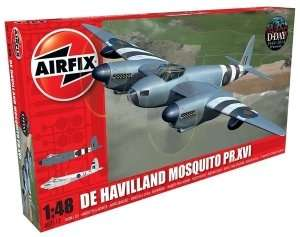 Model De Havilland Mosquito B MkXVI/PR XVI Airfix 07112