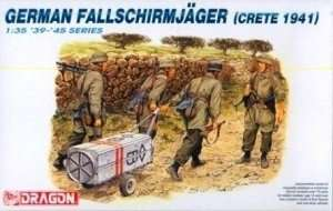 Model Dragon 6070 German Fallschirmjager - Crete 1941
