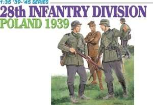Model Dragon 6344 28th Infantry Division Poland 1939