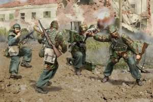 Model Dragon 6741 Italian Paratroopers (Anzio 1944)