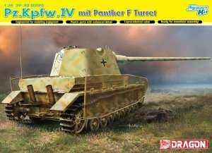 Model Dragon 6824 Pz.Kpfw.IV mit Panther F Turret