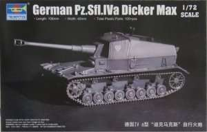 Model German Pz.Sfl.IV a Dicker Max - Trumpeter 07108