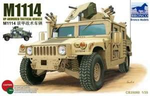 Model Hummer M1114 Up-Armored Tactical Vehicle Bronco 35080