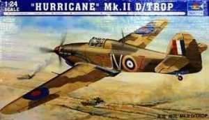 Model Hurricane Mk.II D tropical 02417 Trumpeter