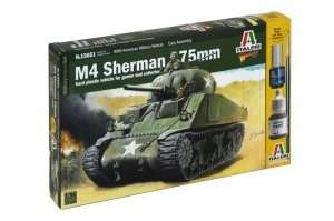 Model Italeri 15651 WWII czołg M4 Sherman 75mm