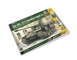 Model Italeri 15652 WWII czołg Panther ausf. A