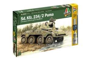 Model Italeri 15653 WWII Sd.Kfz.234/2 Puma do sklejania