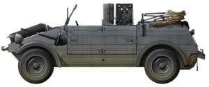 Model Kubelwagen Radio Car Dragon 6886