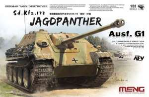 Model Meng TS-039 Niszczyciel czołgów Sd.KFZ.173 Jagdpanther G1
