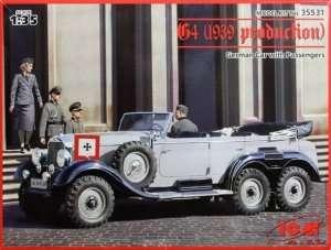 Model Mercedes-Benz W31 G4 - ICM 35531