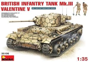 Model MiniArt 35106 Mk.III Valentine Mk5