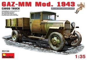 Model MiniArt 35134 GAZ-MM. mod.1943 cargo truck