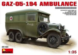 Model MiniArt 35164 GAZ05194 Ambulance