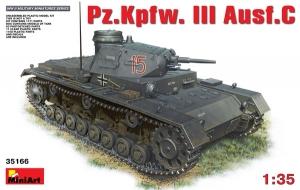 Model MiniArt 35166 PzKpfw III Ausf C