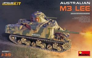 Model MiniArt 35287 australijski czołg M3 Lee z wnętrzem