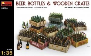Model MiniArt 35574 Beer bottles & wooden crates