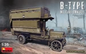 Model MiniArt 39001 autobus wojskowy B-Type