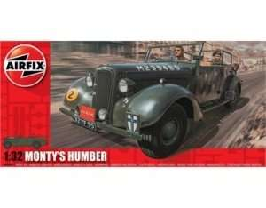 Model Monty's Humber Snipe Staff Car Airfix 05360