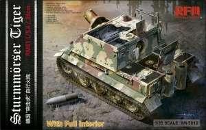 Model Rye Field Model RM-5012 Sturmmorser Tiger RM61 L/5,4 / 38 cm z wnętrzem