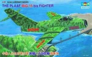 Model Trumpeter 02204 myśliwiec MiG-15 bis