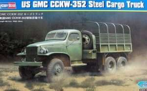Model US GMC CCKW-352 Steel Cargo Truck Hobby Boss 83831