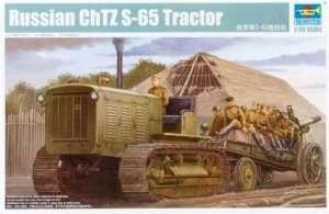 Model ciągnika artyleryjskiego ChTZ S65 Trumpeter 05538