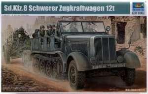 Model ciężkiego ciągnika Sd.Kfz. 8 12 Ton Trumpeter 01583
