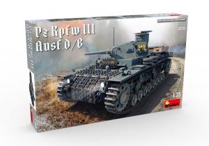 Model czołgu PzKpfw III Ausf.D/B MiniArt 35213