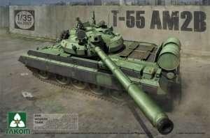 Model czołgu T-55 AM2B w skali 1-35 Takom 2057