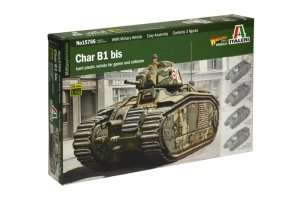 Model czołgu do sklejania Char B1 - Italeri 15766