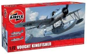 Model hydroplanu Vought OS2U Kingfisher Airfix 02021
