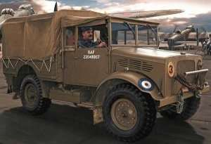 Model lekkiej ciężarówki Bedford MWD Airfix 03313