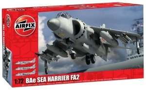 Model myśliwca BAe Sea Harrier FA2 Airfix 04052