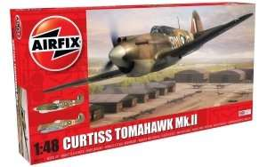 Model myśliwca Curtiss Tomahawk Mk.II Airfix 05133