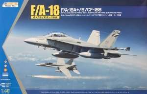 Model myśliwca F/A-18A+, CF-188 1:48 Kinetic 48030