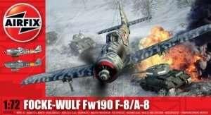 Model myśliwca Focke-Wulf Fw190 F-8/A8 Airfix 02066