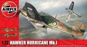 Model myśliwca Hawker Hurricane Mk.I Airfix 02067