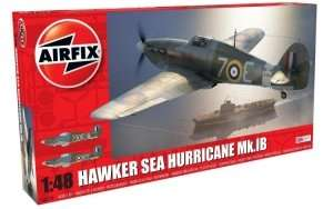 Model myśliwca Hawker Sea Hurricane Mk.I Airifix 05134