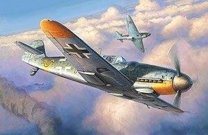 Model myśliwca Messerschmitt Bf-109 G6 Zvezda 4816