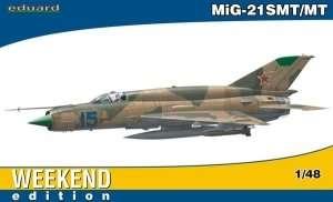 Model myśliwca MiG-21SMT Eduard 84129
