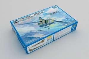 Model mysliwca Mig-23BN Flogger Trumpeter 05801