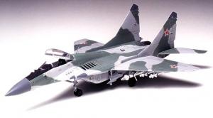Model myśliwca Mig 29 Fulcrum Tamiya 60704 skala 1:72